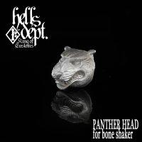 MARVEL 【PANTHER HEAD for Bone Shaker】(WHITE METAL)