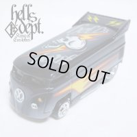 JDC13 X BOO Pinstriping 【VOLKSWAGEN DRAG BUS (FINISHED PRODUCT)】BLACK/RR(SKULL)