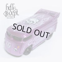 JDC13 X BOO Pinstriping 【VOLKSWAGEN DRAG BUS (FINISHED PRODUCT)】PURPLE/RR(SKULL)