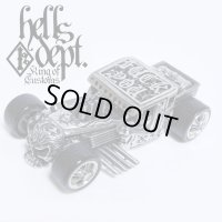 PRE-ORDER : REDRUM 【HELLS DEPT SHAKER (FINISHED PRODUCT)】(WHITE METAL) EXPECTED SHIP DATE August 20