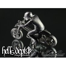 Other Images1: DOUBLE LOSER[S] 【THE NINE (HONDA SUPER CUB)】 (WHITE METAL)
