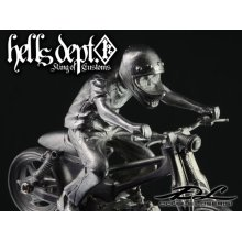 Other Images2: DOUBLE LOSER[S] 【THE NINE (HONDA SUPER CUB)】 (WHITE METAL)