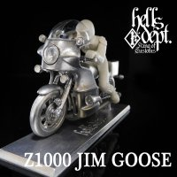 REDRUM 【Z1000 JIM GOOSE】(WHITE METAL)