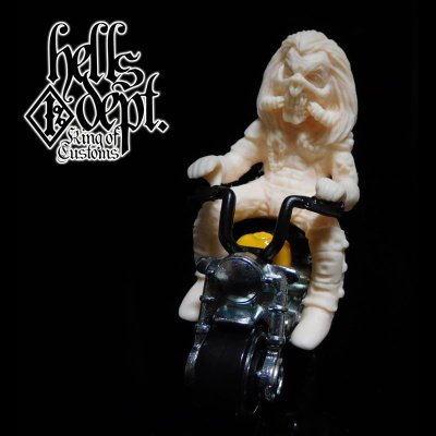 Photo1: JDC13 X Modeler MARVEL 【IMMORTAN JOE FIGURE for HONDA MONKEY】(RESIN FIGURES)