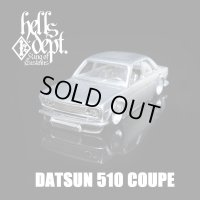 REDRUM 【DATUN 510 COUPE】(WHITE METAL)