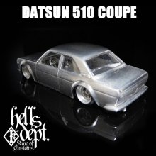 Other Images1: REDRUM 【DATUN 510 COUPE】(WHITE METAL)