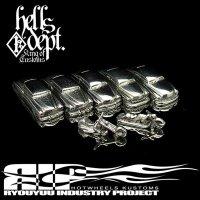 REDRUM 【1/100 scale MERC & BUICK & BIKE 7pcs SET】(WHITE METAL)
