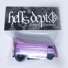 Other Images3: JDC13 X BOO Pinstriping 【VOLKSWAGEN DRAG BUS (FINISHED PRODUCT)】PURPLE/RR(SKULL)