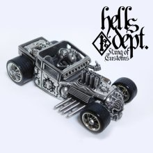 Other Images1: PRE-ORDER : REDRUM 【HELLS DEPT SHAKER (FINISHED PRODUCT)】(WHITE METAL) EXPECTED SHIP DATE August 20