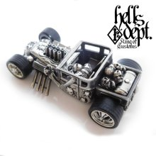 Other Images3: PRE-ORDER : REDRUM 【HELLS DEPT SHAKER (FINISHED PRODUCT)】(WHITE METAL) EXPECTED SHIP DATE August 20