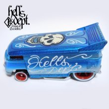 Other Images1: JDC13 X BOO Pinstriping 【VOLKSWAGEN DRAG BUS (FINISHED PRODUCT)】LT.BLUE/RR(SKULL)