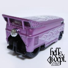 Other Images2: JDC13 X BOO Pinstriping 【VOLKSWAGEN DRAG BUS (FINISHED PRODUCT)】PURPLE/RR(SKULL)