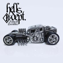 Other Images2: PRE-ORDER : REDRUM 【HELLS DEPT SHAKER (FINISHED PRODUCT)】(WHITE METAL) EXPECTED SHIP DATE August 20