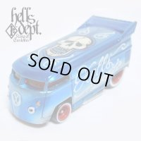 JDC13 X BOO Pinstriping 【VOLKSWAGEN DRAG BUS (FINISHED PRODUCT)】LT.BLUE/RR(SKULL)