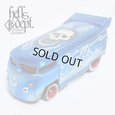 Photo1: JDC13 X BOO Pinstriping 【VOLKSWAGEN DRAG BUS (FINISHED PRODUCT)】LT.BLUE/RR(SKULL)