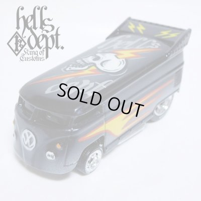 Photo1: JDC13 X BOO Pinstriping 【VOLKSWAGEN DRAG BUS (FINISHED PRODUCT)】BLACK/RR(SKULL)