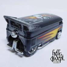 Other Images2: JDC13 X BOO Pinstriping 【VOLKSWAGEN DRAG BUS (FINISHED PRODUCT)】BLACK/RR(SKULL)