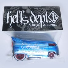 Other Images3: JDC13 X BOO Pinstriping 【VOLKSWAGEN DRAG BUS (FINISHED PRODUCT)】LT.BLUE/RR(SKULL)
