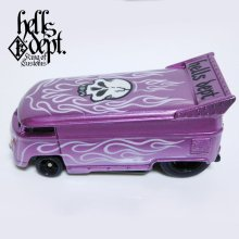 Other Images1: JDC13 X BOO Pinstriping 【VOLKSWAGEN DRAG BUS (FINISHED PRODUCT)】PURPLE/RR(SKULL)