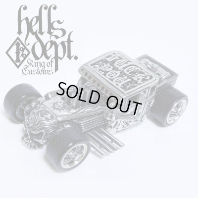 Photo1: PRE-ORDER : REDRUM 【HELLS DEPT SHAKER (FINISHED PRODUCT)】(WHITE METAL) EXPECTED SHIP DATE August 20