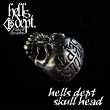 "Other Images2: REDRUM 【""EZ PARTS SERIES"" HELLS DEPT SKULL HEAD for Bone Shaker】(WHITE METAL)"