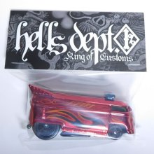 Other Images3: JDC13 X SHO Pinstriping 【VOLKSWAGEN DRAG BUS with BAR (FINISHED PRODUCT)】RED/RR