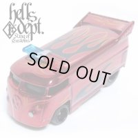 JDC13 X SHO Pinstriping 【VOLKSWAGEN DRAG BUS with BAR (FINISHED PRODUCT)】RED/RR