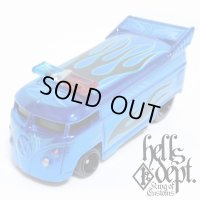 JDC13 X SHO Pinstriping 【VOLKSWAGEN DRAG BUS with BAR (FINISHED PRODUCT)】BLUE/RR