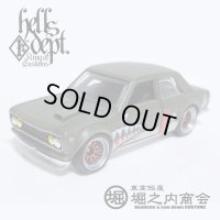 HORINOUCHI SHOUKAI 【DATSUN 510 BLUEBIRD H's CUSTOM (FINISHED PRODUCT)】FLAT OLIVE/RR