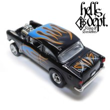 Other Images2: SHO Pinstriping 【'55 CHEVY BEL AIR GASSER (FINISHED PRODUCT)】BLACK-BLUE/RR