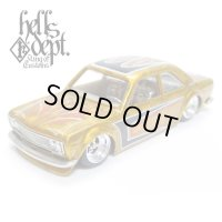 RED RUM 【DATSUN 510 COUPE (FINISHED PRODUCT)】YELLOW/RR