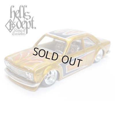 Photo1: RED RUM 【DATSUN 510 COUPE (FINISHED PRODUCT)】YELLOW/RR