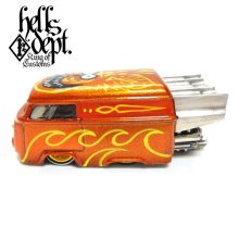 "Other Images1: BOO Pinstriping 【EVWO ""FAT MAN"" with Pinstriped Picture (FINISHED PRODUCT)】ORANGE/RR"