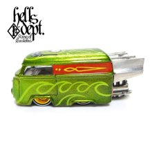 "Other Images1: BOO Pinstriping 【EVWO ""FAT MAN"" with Pinstriped Picture (FINISHED PRODUCT)】LT.GREEN/RR"