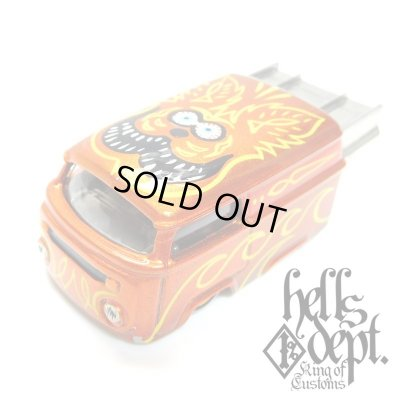 """Photo1: BOO Pinstriping 【EVWO """"FAT MAN"""" with Pinstriped Picture (FINISHED PRODUCT)】ORANGE/RR"""