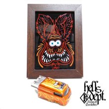 """Other Images3: BOO Pinstriping 【EVWO """"FAT MAN"""" with Pinstriped Picture (FINISHED PRODUCT)】ORANGE/RR"""
