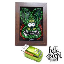 "Other Images3: BOO Pinstriping 【EVWO ""FAT MAN"" with Pinstriped Picture (FINISHED PRODUCT)】LT.GREEN/RR"