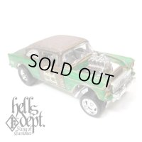 LOWERED B'STYLE x KATSUNUMA SEISAKUSYO 【'55 CHEVY BEL AIR GASSER (FINISHED PRODUCT)】RUSTED-GREEN/RR