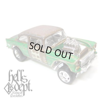 Photo1: LOWERED B'STYLE x KATSUNUMA SEISAKUSYO 【'55 CHEVY BEL AIR GASSER (FINISHED PRODUCT)】RUSTED-GREEN/RR