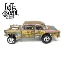 Other Images2: LOWERED B'STYLE x KATSUNUMA SEISAKUSYO 【'55 CHEVY BEL AIR GASSER (FINISHED PRODUCT)】RUSTED-YELLOW/RR