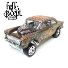 Other Images1: LOWERED B'STYLE x KATSUNUMA SEISAKUSYO 【'55 CHEVY BEL AIR GASSER (FINISHED PRODUCT)】RUSTED-RED/RR