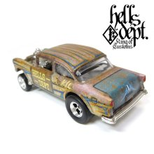 Other Images3: LOWERED B'STYLE x KATSUNUMA SEISAKUSYO 【'55 CHEVY BEL AIR GASSER (FINISHED PRODUCT)】RUSTED-YELLOW/RR