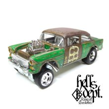 Other Images1: LOWERED B'STYLE x KATSUNUMA SEISAKUSYO 【'55 CHEVY BEL AIR GASSER (FINISHED PRODUCT)】RUSTED-GREEN/RR