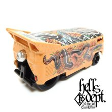 "Other Images2: JDC13 【""YAKUZA - SNAKE"" VW DRAG BUS (FINISHED PRODUCT)】TAN/RR"