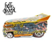 "Other Images1: JDC13 【""YAKUZA - DRAGON"" VW DRAG BUS (FINISHED PRODUCT)】YELLOW GOLD/RR"