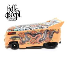 "Other Images1: JDC13 【""YAKUZA - SNAKE"" VW DRAG BUS (FINISHED PRODUCT)】TAN/RR"