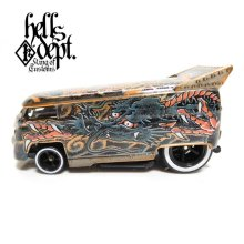 "Other Images1: JDC13 【""YAKUZA - DRAGON"" VW DRAG BUS (FINISHED PRODUCT)】BRONZE/RR"