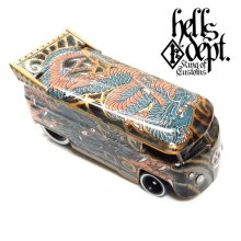 "Other Images3: JDC13 【""YAKUZA - DRAGON"" VW DRAG BUS (FINISHED PRODUCT)】BRONZE/RR"