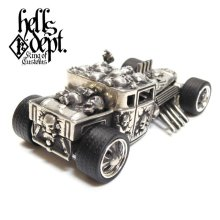 "Other Images3: JDC13 X REDRUM 【""BLUE EYE"" NEW HELLS DEPT SHAKER (FINISHED PRODUCT)】(WHITE METAL)"