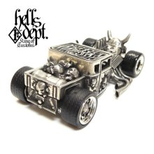 "Other Images2: JDC13 X REDRUM 【""BERO"" NEW HELLS DEPT SHAKER (FINISHED PRODUCT)】(WHITE METAL)"